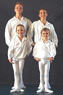 Garçons, programme 2009